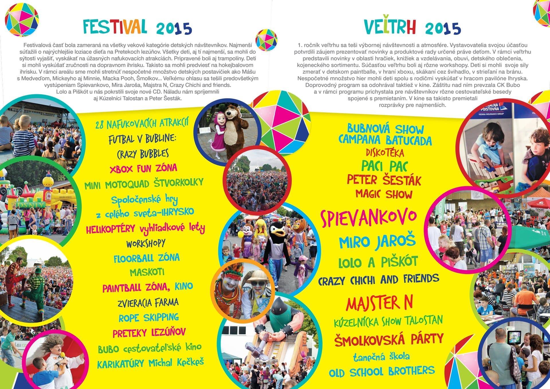 detský festival a veľtrh 2015