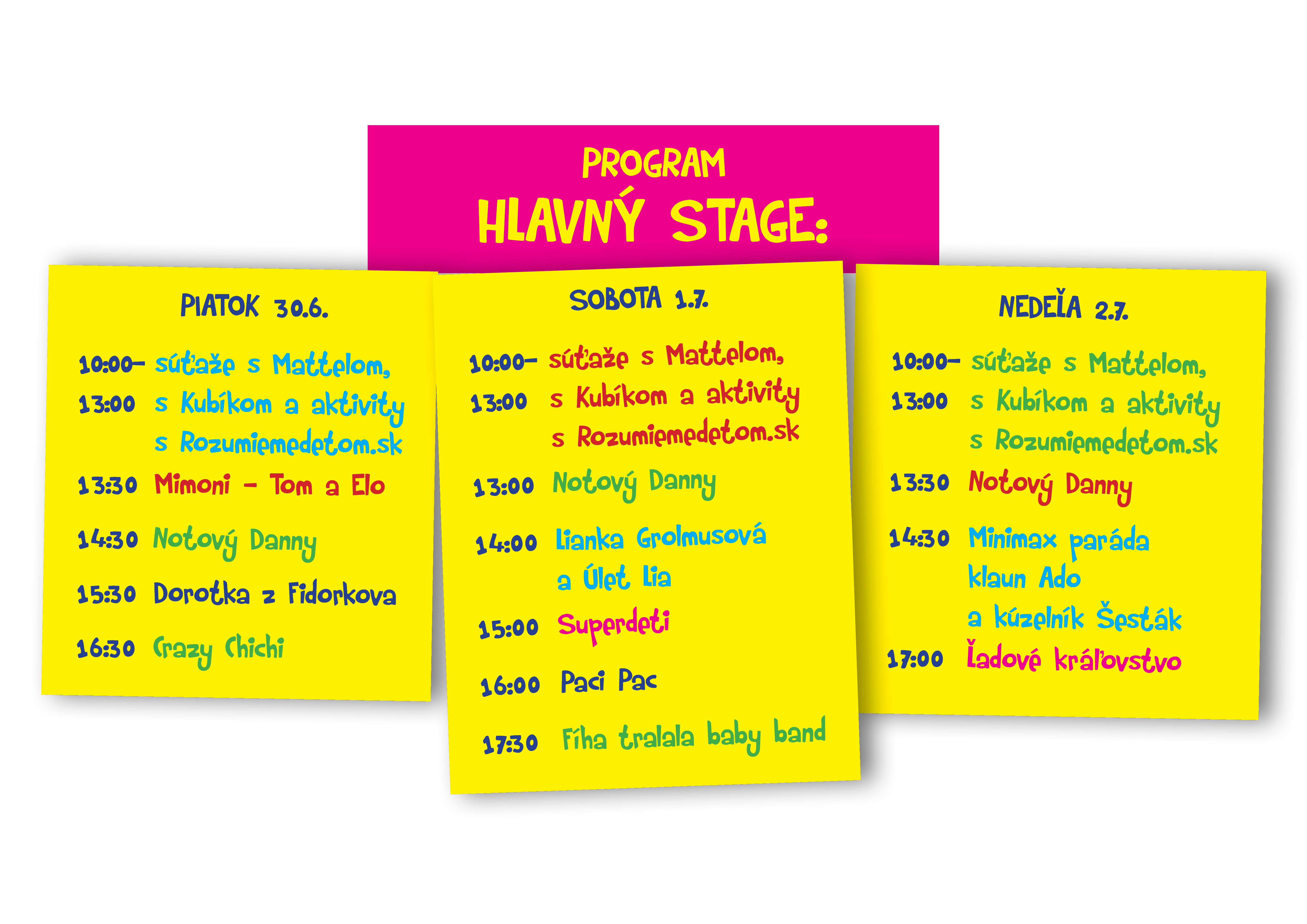 1. detský festival a veľtrh